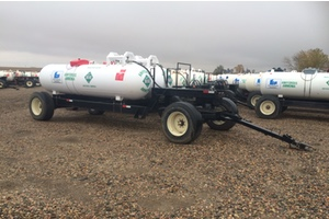 Anhydrous Dual Tank Trailer