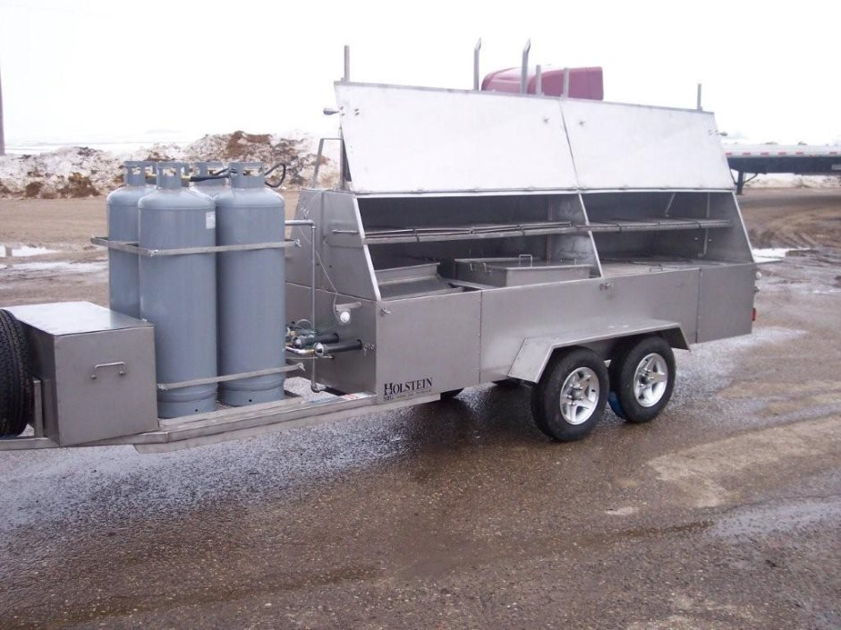 Trailer Mounted Towable Grills Models 1240c 1240g Amp 1240gss