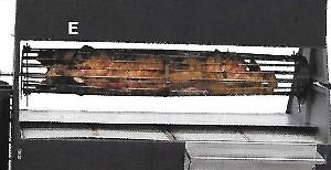 Hog/lamb/roast rotisserie