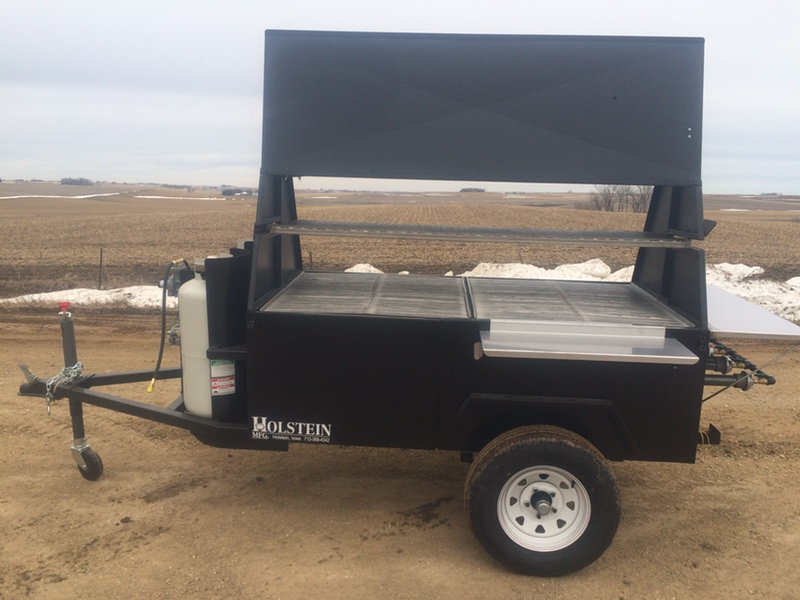 Towable Gas Barbeque Grill Model 7240g