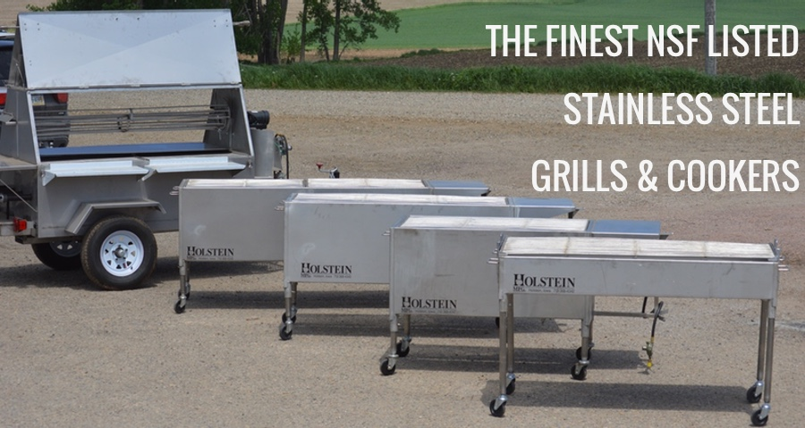 The finest NSF Listed Grills & Cookers