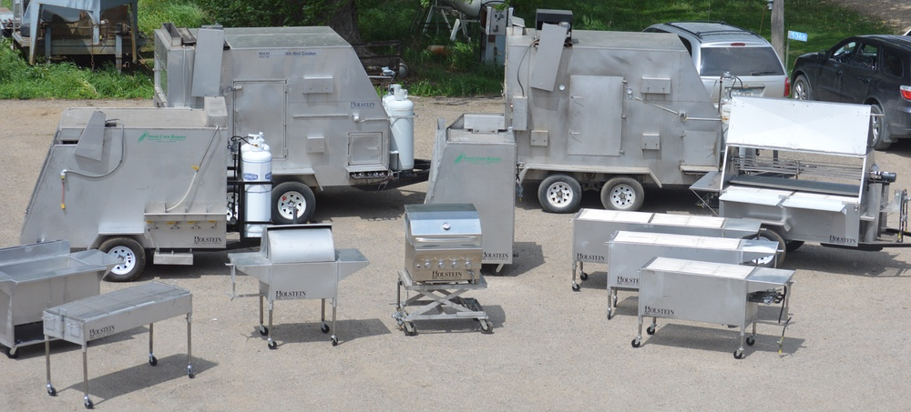 NSF Listed Grills & Cookers