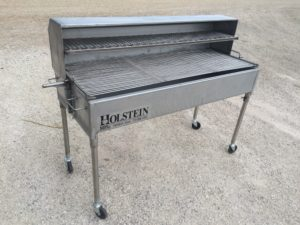 2460CSS with optional 1/2 hood and holding & warming grate