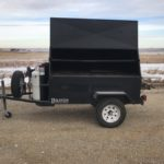 Model 7240G -- with following options: Rear Table, Holding & Warming Grate, and Spare Tire.